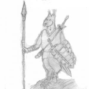 Воин короля Бахвала (Арн)